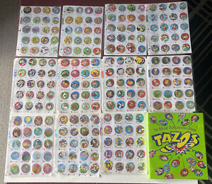 The Official Tazos Collectors Album Looney Tunes The Simpsons Chester Cheetah