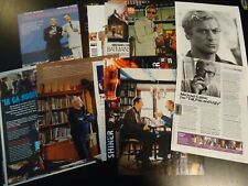 Michael Caine 10+ full pages   Clippings