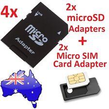 SDHC SDXC MicroSD MicroSDHC Micro SDXC Memory Card Reader Micro SIM Adapter