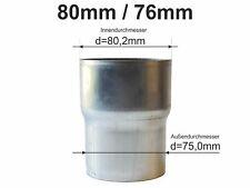 Reduzierstück Fallrohr verschiedene Größen Fallrohrreduzierung Zink Titanzink