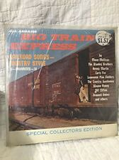 Bill Clifton Stanley All Aboard Big Train Express Nashville Record LP
