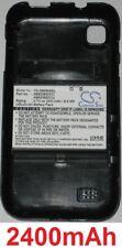 Case + battery 2400mah type ab653850cc ab653850cu for samsung sch-i909 galaxy s