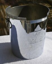 Art Deco Chase chrome Ice Bucket Machine Age Lurelle Guild Rockwell Kent 1930's