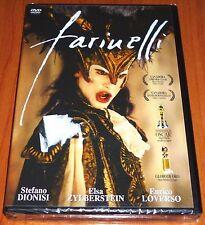 FARINELLI IL CASTRATO - Italiano Español - English subtitles DVD R ALL Precintad