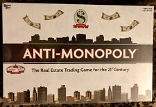 2009 ANTI-MONOPOLY University Games AntiMonopoly Board Game NEW SEALED