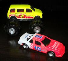 Racing Champions Vintage Monster Trucks Die Cast 1987 & Purolator Race Car 1990