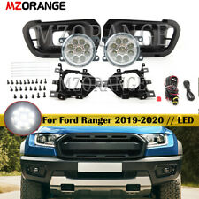 LED Bulb Lamp Fog Light  Harness Relay Kit For Ford Ranger 2019-2020 Replacement