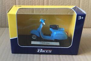 LEGENDARY BIKES- VESPA 150 SUPER 1965 1/18 MOTORCYCLE DIECAST, WELLY, MIB