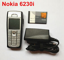 100% Unlocked Nokia 6230i black mobile cell phone camera phone,Bar,free shipping