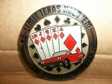 Poker Card-Guard Cover, No-Limit Texas Hold'em, The Cadillac of Poker, NO LIMIT