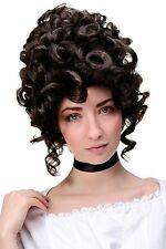 wig Me Up Perruque de qualité rococo baroque Noble MARRON gfw1675-6