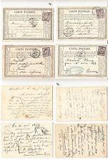 CPA précurseur Rouen Février 1877 lot 479