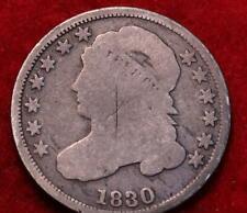 1830 Philadelphia Mint Silver Capped Bust Dime