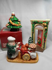 Dept 56 Merry Makers Bakery Entrance, Sweet Treats Tree, Bartholomew the Baker