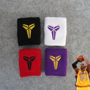 Kobe Bryant bracelet wristband Basketball Lakers black mamba cotton 4 colors