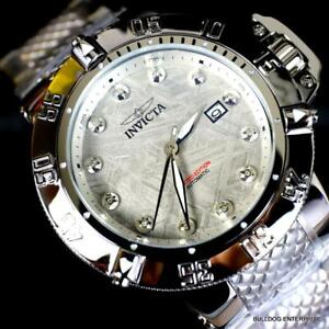 Invicta Subaqua Noma III Meteorite Diamond Marker Steel Automatic 50mm Watch New
