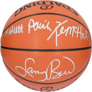 Larry Bird, Kevin McHale, Robert Parish NBA Boston Celtics Signed Basketball