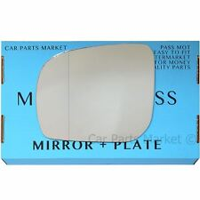 Left side Wide Angle Wing door mirror glass for Subaru Forester 2011-2013 +plate
