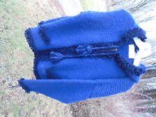 Cardigan Zipper Hooded, Sweater, Handmade by Sisandina Handicrafts , 100%  Wool