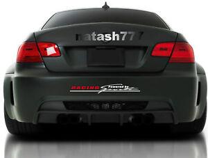 Racing Powered by Sports Vinyl Decal Sticker emblem Performance Car Truck SUV