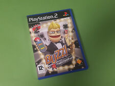Buzz The Hollywood Quiz Sony PlayStation 2 PS2 Game - SCEE