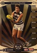 2014 afl TEAMCOACH GOLD GEELONG CATS ANDREW MACKIE #24 CARD FREE POST