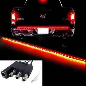 """60"""" Redline LED Pickup Truck Tailgate Reverse Brake Turn Signal Tail light Bar"""
