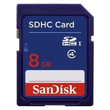 SanDisk SD 8 Gb CLASSE 4-Scheda SDHC