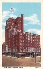 Kansas postcard Pittsburg, Hotel Besse