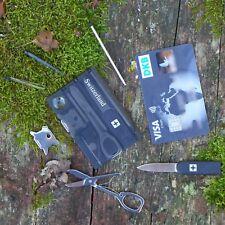Kreditkarten Survival Kit | 8 in 1 tool | Swizerland - SwissCard wie Victorinox