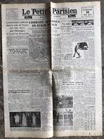 N46 La Une Du Journal Le Petit Parisien 19 Mai 1944