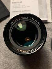 New listing Fuji Fujinon Xf 90mm F/2 R Lm Wr Lens - Mint in box w/ all accessories