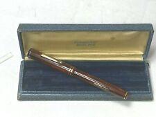 Vintage NOS WAHL Eversharp Woodgrain Fountain Pen  with Price Disk FLEX Nib NEW