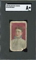 1909 E95 Philadelphia Caramel      Ed Reulbach  SGC !!!