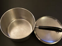 Revere Ware 1801 3 Quart Stainless Steel Sauce Pan With Lid