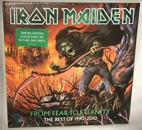 LP IRON MAIDEN From Fear to Eternity Best of 1990-2010 (PIC 3LP 180g) NEW MNT SS