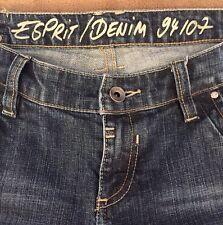 EUC~ESPRIT / DENIM ~94107~Women's Capri Jeans~Size 32 Waist X 17 1/2 Inseam