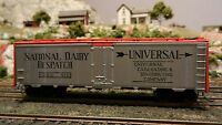 Athearn HO BB 40' Billboard Reefer, National Dairy Despatch, Upgraded,, Ex