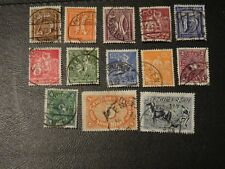 Germany Stamps Sg 179,181/8,190,192/3,195 part set 13 of 20 all Gu 1921 Wmk 45.