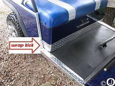 Ezgo Marathon Golf Cart WRAP Around Polished Aluminum Diamond Plate KICK Panel