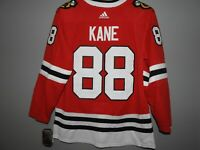 Authentic Adidas NHL Chicago Blackhawks Kane Hockey Jersey New Mens Sizes 50