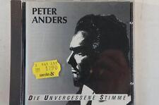 Peter Anders Die unvergessene Stimme CD Sonia CD 74504 CD24
