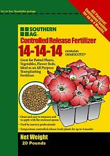 Southern Ag. Controlled Release Fertilizer 20lb 14-14-14 Contains Osmocote