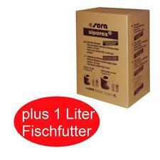 50 Liter sera siporax pond + 1 Liter Teichfischfutter, Fischfutter