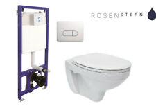 WC-Vorwandelement Belvit Wand WC SET WC-Sitz Soft Close Komplettset Spülkasten
