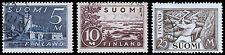 Finland Scott 177-179 (1930) Used H F-VF Complete Set