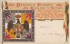 1828 DRAGONI DI PIEMONTE - 1832 LANCIERI DI NOVARA - ALBIS ADUA 1906