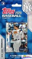 New York Yankees 2020 Topps Limited Edition 17 Card Team Set-Aaron Judge, Cole+