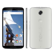 NEW Motorola Nexus 6 XT1103 - 32GB - White (Unlocked) 4G LTE Android Cell Phone
