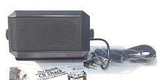 Medio de 5w Radio Cb Altavoz de extensión externos, Cable 2m, 3.5mm Conector Jack